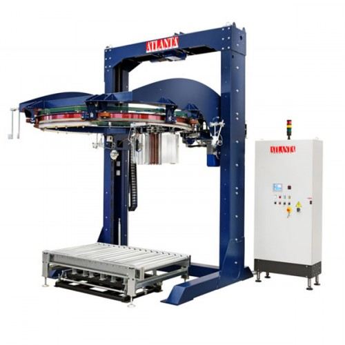 Omega Stretch wrapping machines with rotary ring